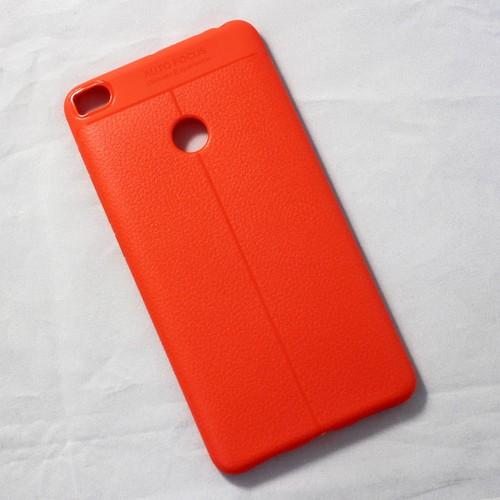 Ốp dẻo Xiaomi Mi Max 2 lưng sần cam