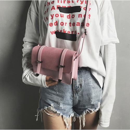 Túi đeo da lộn siêu xinh