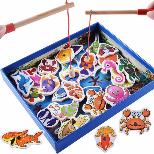 Bộ đồ chơi câu cá gỗ cho bé - Cần câu cá nam châm - 7875970 , 11198896 , 15_11198896 , 150000 , Bo-do-choi-cau-ca-go-cho-be-Can-cau-ca-nam-cham-15_11198896 , sendo.vn , Bộ đồ chơi câu cá gỗ cho bé - Cần câu cá nam châm