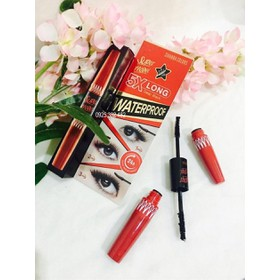 MASCARA NỐI MI 2 ĐẦU SIVANNA COLORS - SUPER MODEL 5X LONG - mascara thái