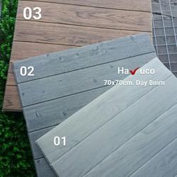 xốp dán tường vân gỗ tự nhiên