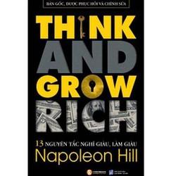 Sách - Think and grow rich -13 nguyên tắc nghĩ giàu, làm giàu - 89k