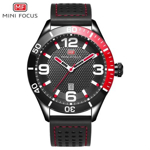 Đồng hồ nam Mini Focus dây da thể thao mạnh mẽ trẻ trung MF155