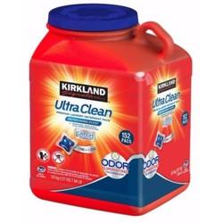 [Mẫu mới ]Viên giặt xả quần áo Kirkland Ultra Clean|vien giat quan ao kirkland xuất xứ Mỹ 152 viên