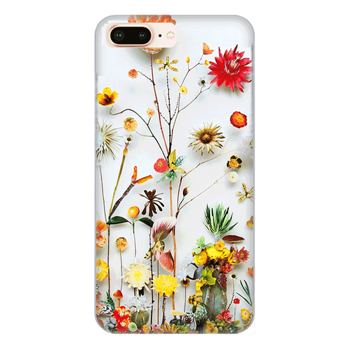 Ốp lưng điện thoại iphone 8 plus - flower11