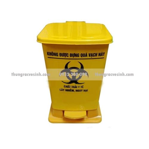 Thùng rác y tế màu vàng 15 lít - 5899522 , 9962728 , 15_9962728 , 130000 , Thung-rac-y-te-mau-vang-15-lit-15_9962728 , sendo.vn , Thùng rác y tế màu vàng 15 lít
