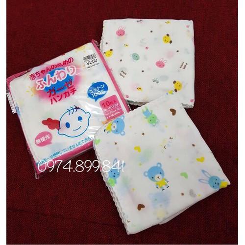 10g khăn xô hoa xuất Nhật