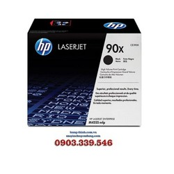 Mực In HP 90X - CE390X Black LaserJet Toner Cartridge