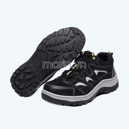 Giày bảo hộ lao động Hunter 218 màu đen