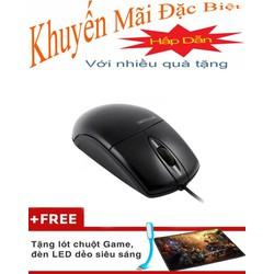 chuột máy tính Mouse Mitsumi lớn FPT Tặng Lót Chuột, Đèn Led