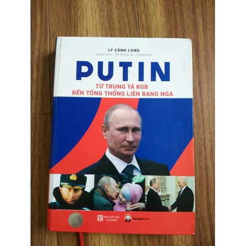 Sách Putin từ trung tá KGB đến tổng thống liên bang Nga