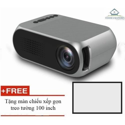 Máy chiếu phim mini YG320 màn ảnh rộng - tặng màn chiếu 100 inch - 5905777 , 9971614 , 15_9971614 , 1490000 , May-chieu-phim-mini-YG320-man-anh-rong-tang-man-chieu-100-inch-15_9971614 , sendo.vn , Máy chiếu phim mini YG320 màn ảnh rộng - tặng màn chiếu 100 inch