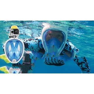 DỤng cụ bơi lặn-Mặt Nạ Lặn full Face gắn được camera quay hành trình - matnalan thumbnail