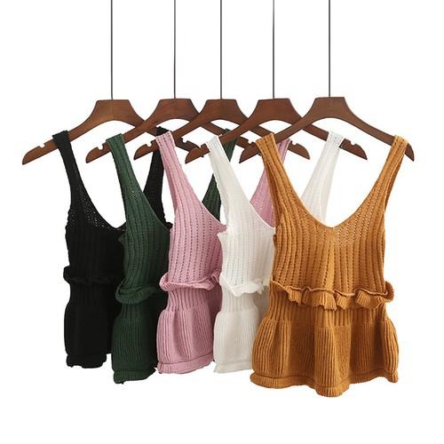 áo len 2 dây nữ, áo len 2 dây, áo len nữ A288