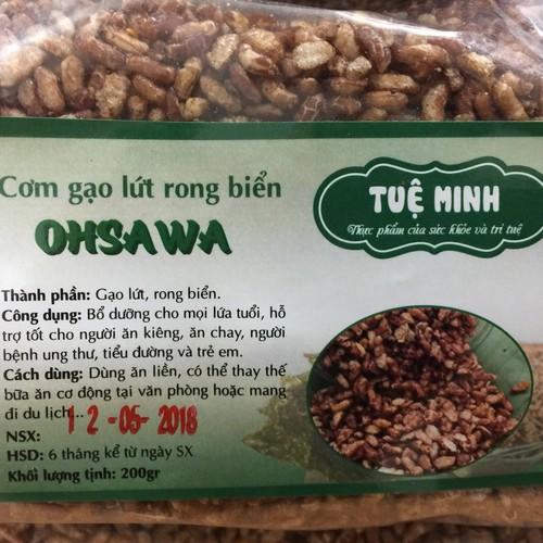 Cơm gạo lứt rong biển OSAWA Tuệ Minh