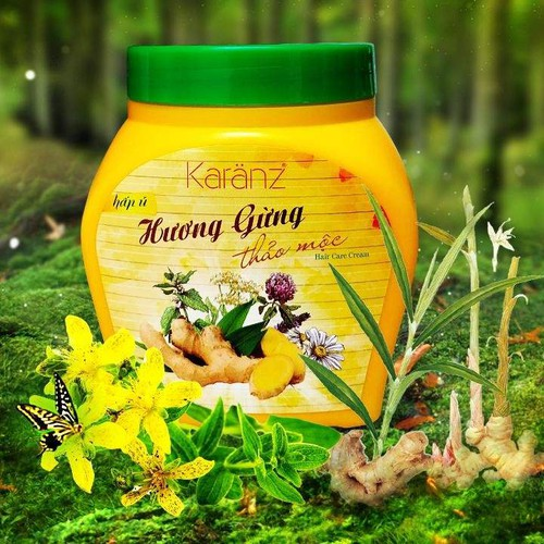 Hấp ủ hương gừng thảo mộc Karanz 900ml