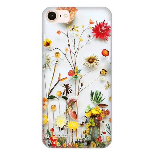 Ốp lưng điện thoại iphone 8 - flower11