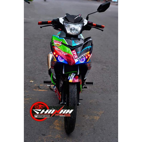 Tem Xe Decal EXCITER 150 Valentino.