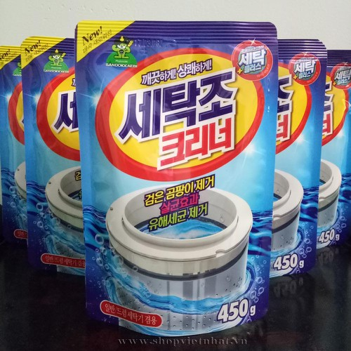 Combo 5 túi Bột tẩy vệ sinh lồng máy giặt Thái Lan