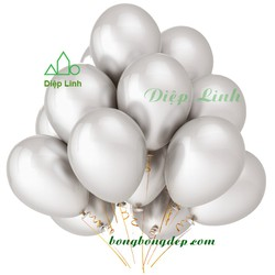 50 bong bóng nhũ Thái Lan - Bóng nhũ Bạc
