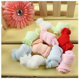 Túi 5 đôi tất mỏng cho bé (loại thường & loại lưới)
