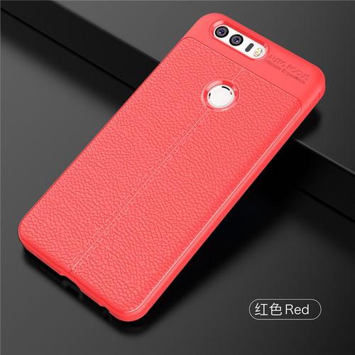 ỐP LƯNG Huawei Honor 8 LT ARMOR VÂN DA CHỐNG VÂN TAY Đỏ