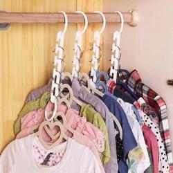 sỉ 10 hộp 8 móc treo quần áo đa năng