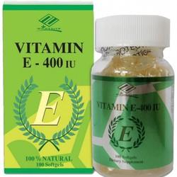 Viên uống xoá nhăn Mỹ natural Vitamin E 400IU