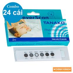 Combo 24 Nhiệt Kế Dán Trán Tanako Chính hãng - Tanako_c24