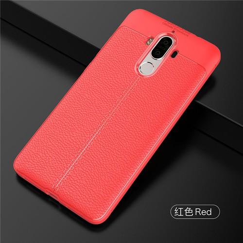 ỐP LƯNG Huawei Mate 9 LT ARMOR VÂN DA CHỐNG VÂN TAY Đỏ