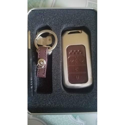 Ốp chìa khóa inox Honda CRV