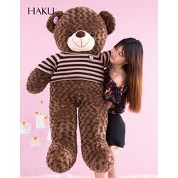 Gấu bông teddy 1m4 giá rẻ nhất hẹ mặt trời.