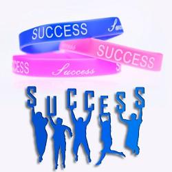 Vòng tay cao su SUCCESS ý nghĩa