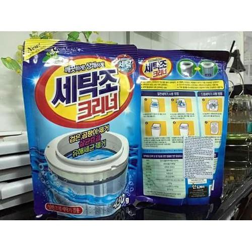Combo 3 Túi Bột tẩy vệ sinh lồng máy giặt Thái Lan - 5909084 , 9975830 , 15_9975830 , 149000 , Combo-3-Tui-Bot-tay-ve-sinh-long-may-giat-Thai-Lan-15_9975830 , sendo.vn , Combo 3 Túi Bột tẩy vệ sinh lồng máy giặt Thái Lan