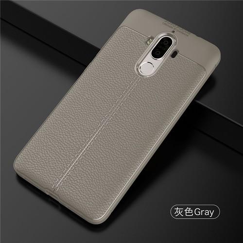 ỐP LƯNG Huawei Mate 9 LT ARMOR VÂN DA CHỐNG VÂN TAY Xám
