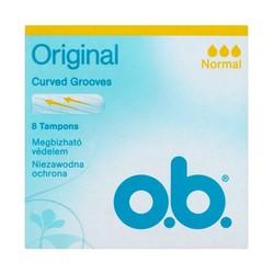 8 Miếng Băng Vệ Sinh TAMPON Cỡ trung bình O.B ORIGINAL 8 Miếng