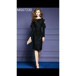Đầm body ren kim sa hàng thiết kế cao cấp