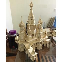 Đồ chơi lắp ráp gỗ 3D Mô hình Lâu đài Saint Petersburg
