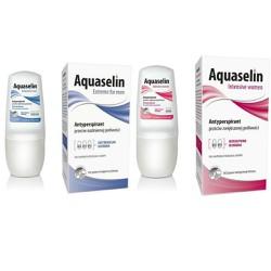 2 Aquaselin ngăn tiết mồ hôi,khử mùi dành cho nam, nữ mồ hôi nhiều