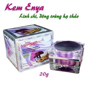 Kem ENYA cao cấp tinh chất lingzhi và đông trùng hạ thảo 20g tím - Kem_Enya_DongTrung_Tim