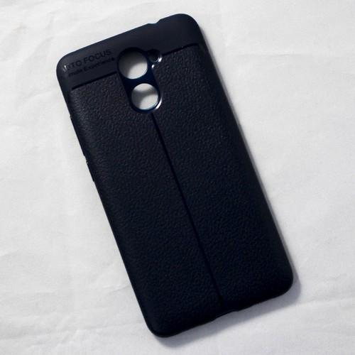 Ốp dẻo Huawei Y7 2017 lưng sần xanh đen