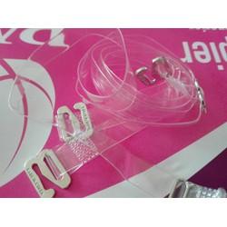 Combo 2 bộ dây áo ngực trong suốt Hàn Quốc