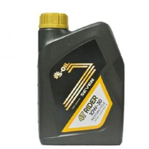 Nhớt xe số S-OIL 7 4T RIDER 10W30 1L