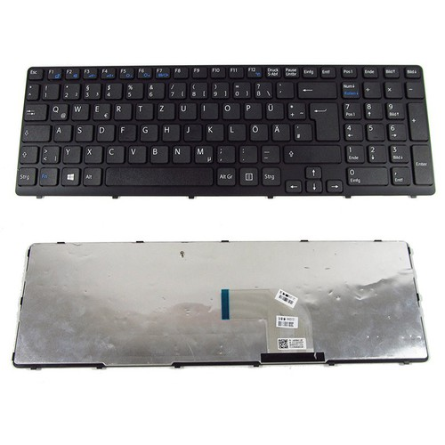 Bàn phím Laptop Sony- SVE15 Đen