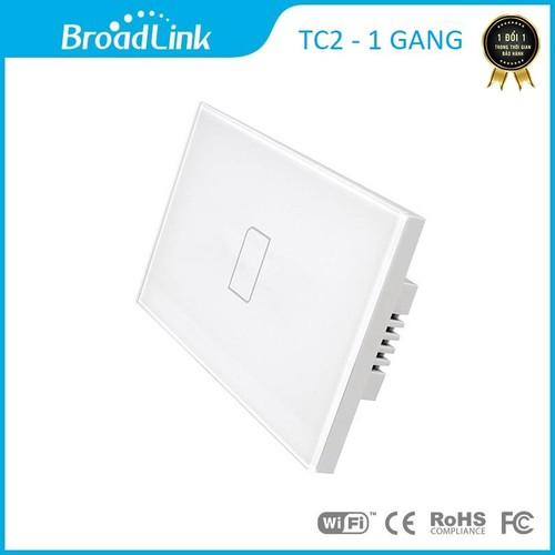 Công tắc cảm ứng điều khiển từ xa Broad link TC2 chữ nhật - 1 phím