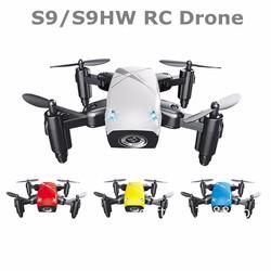 Máy bay điều khiển từ xa Flycam FPV 4 cánh xếp gọn Mini Drone S9W