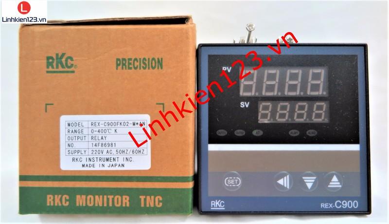 Bộ điều khiển nhiệt độ RKC REX C900 tặng đầu dò nhiệt độ 2
