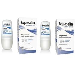 Combo 2 Aquaselin - Lăn nách ngăn tiết mồ hôi và khử mùi dành cho nam