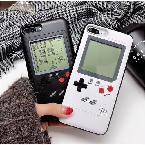 Ốp lưng viền dẻo biến iPhone thành Game Boy