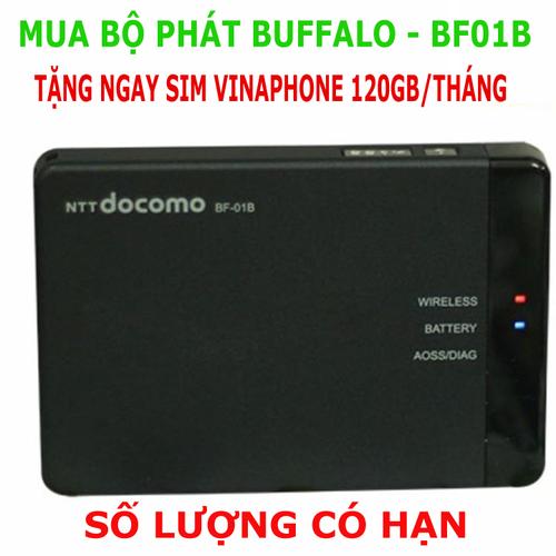 Phát Wifi 3G 4G Buffalo - Wifi 3G 4G Nhật Bản - Tặng Sim Vina 120GB